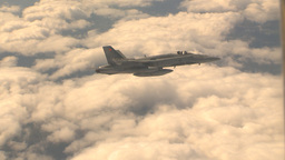 HD2009-6-4-8 Aerial F18 Stock Video Footage