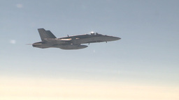 HD2009-6-4-12 Aerial F18 Stock Video Footage