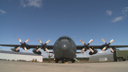 HD2009-6-4-26 C130 Herc Stock Video Footage