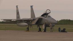 HD2009-6-6-11 apron F15 Stock Video Footage