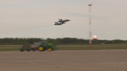 HD2009-6-6-15 F18 takeoff Stock Video Footage