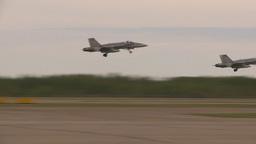 HD2009-6-6-17 F18 takeoff Stock Video Footage