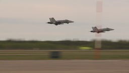 HD2009-6-6-17 F18 takeoff Stock Video Footage