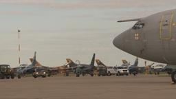 HD2009-6-6-21 apron alpha jet F16s RAF E3a Footage