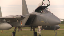 HD2009-6-6-25 apron F15 line Stock Video Footage