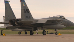 HD2009-6-6-39 apron F15 line Stock Video Footage