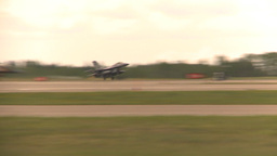 HD2009-6-6-63 F16 takeoff Stock Video Footage