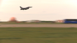 HD2009-6-6-63 F16 takeoff Stock Video Footage