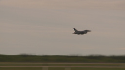 HD2009-6-6-67 F16 takeoff Stock Video Footage