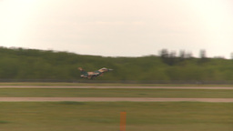 HD2009-6-6-73 F16 takeoff Stock Video Footage