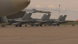 HD2009-6-7-9 apron F18s Stock Video Footage