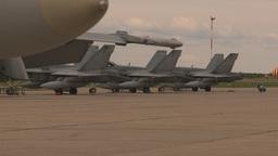 HD2009-6-7-9 apron F18s Stock Video Footage