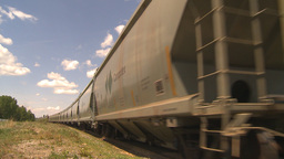 HD2009-6-8-9 frieght train Stock Video Footage