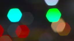 HD2009-6-8-27 abstract out of focus lights night Stock Video Footage