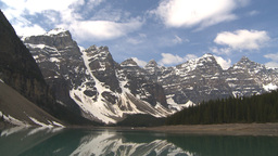 HD2009-6-9-2 Moraine lake pan Stock Video Footage