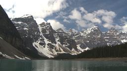 HD2009-6-9-4 Moraine lake Stock Video Footage