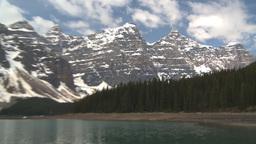 HD2009-6-9-6 Moraine lake Z Stock Video Footage