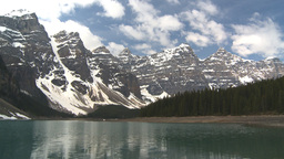 HD2009-6-9-6 Moraine lake Z Stock Video Footage