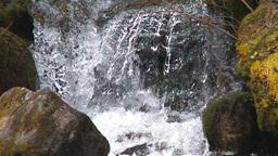 HD2009-6-9-20 fast stream slowmo shutter Stock Video Footage