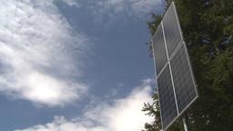 HD2009-6-9-28 solar panel Stock Video Footage