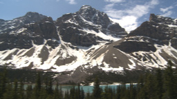 HD2009-6-9-32 Mountains and glaciers pan Stock Video Footage