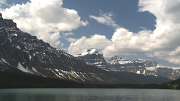 HD2009-6-9-40 Bow lake TL Stock Video Footage