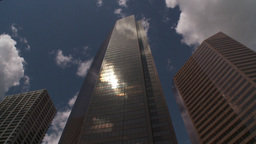 HD2009-6-11-7RC skyscraper hitilt TL Stock Video Footage