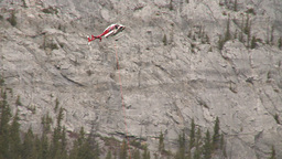 HD2009-6-11-15RC 60i Banff Heli rescue Stock Video Footage