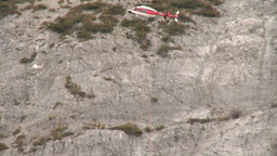 HD2009-6-11-17RC 60i Banff Heli rescue Stock Video Footage