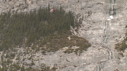 HD2009-6-11-23RC 60i Banff Heli rescue Stock Video Footage