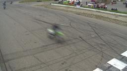 HD2009-6-12-6 motocross bike race Stock Video Footage