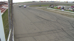 HD2009-6-12-8 stock car race Stock Video Footage