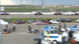 HD2009-6-12-10 stock car race Stock Video Footage