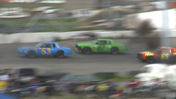 HD2009-6-12-12 stock car race Footage
