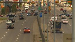 HD2009-6-17-8 traffic 16th ave TL LL Stock Video Footage