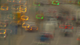 HD2009-6-17-12 abstract traffic Stock Video Footage