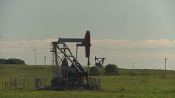 HD2009-6-19-2 pumpjack Footage