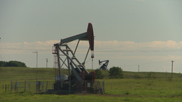 HD2009-6-19-2 pumpjack Stock Video Footage