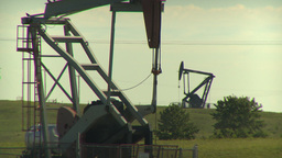 HD2009-6-19-4 pumpjack Footage