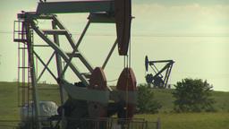 HD2009-6-19-4 pumpjack Stock Video Footage