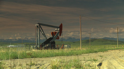 HD2009-6-19-14 pumpjack Stock Video Footage