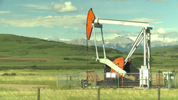 HD2009-6-19-20 pumpjack Footage