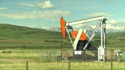 HD2009-6-19-20 pumpjack Stock Video Footage
