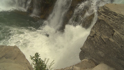HD2009-6-19-40 Lundbreck falls Z Stock Video Footage