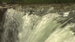 HD2009-6-20-2 Lundbreck falls Stock Video Footage