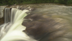 HD2009-6-20-6 Lundbreck falls effect Stock Video Footage