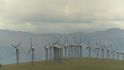 HD2009-6-20-56 wind turbines Footage