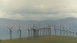 HD2009-6-20-56 wind turbines Stock Video Footage