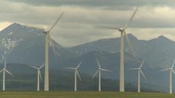HD2009-6-20-58 wind turbines Stock Video Footage