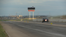 HD2009-6-21-2 jet car canola launch Stock Video Footage